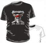 INSTANT PIRATE .. JUST ADD RUM Funny Novelty Design for mens or ladyfit t-shirt
